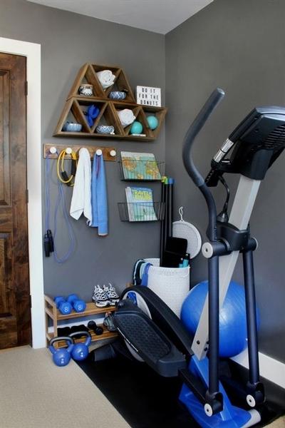 Espace gym à domicile