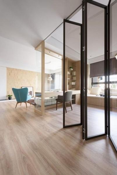 Porte intérieure pour loft