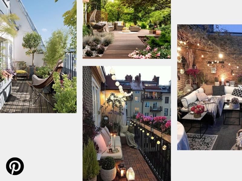 aménager sa terrasse ou son balcon pour le printemps