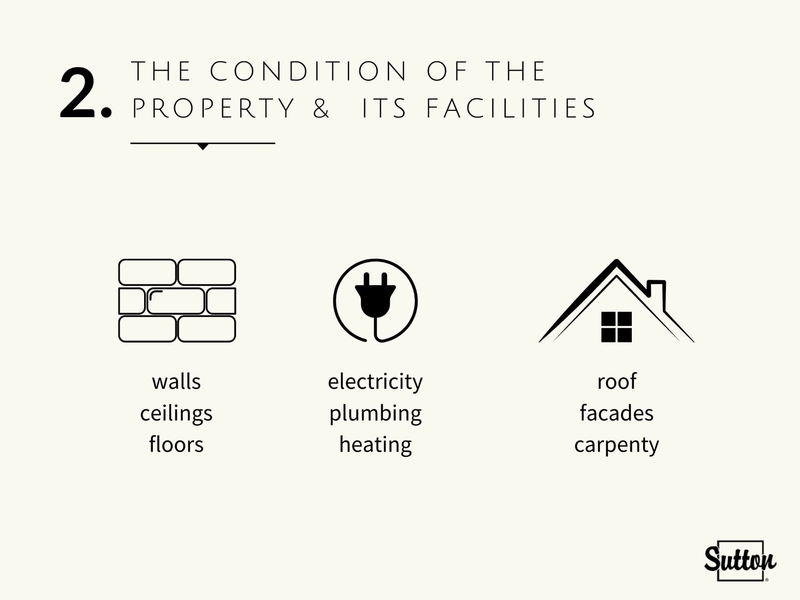 Check the condition of the property and its facilities