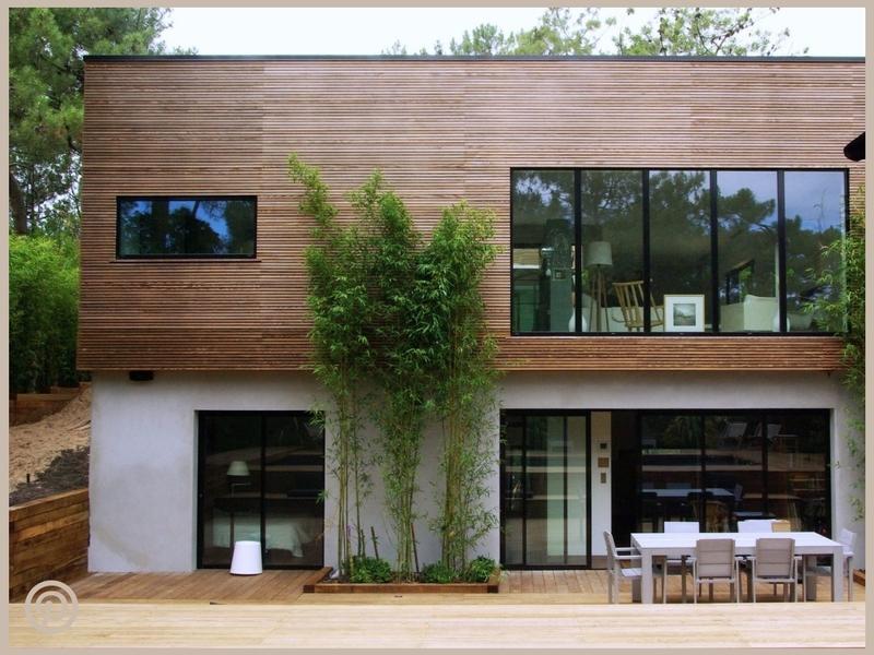 inspiration revêtement extérieur de maison bois