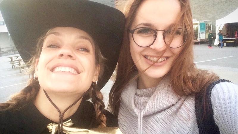 Leslie Ruckstuhl et Maïna Blais sutton québec