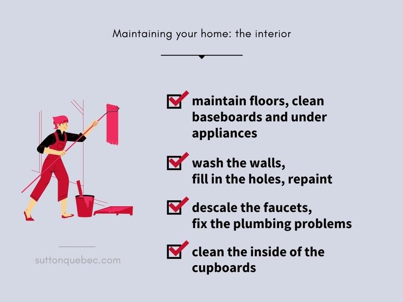 Maintaining the interior of your home