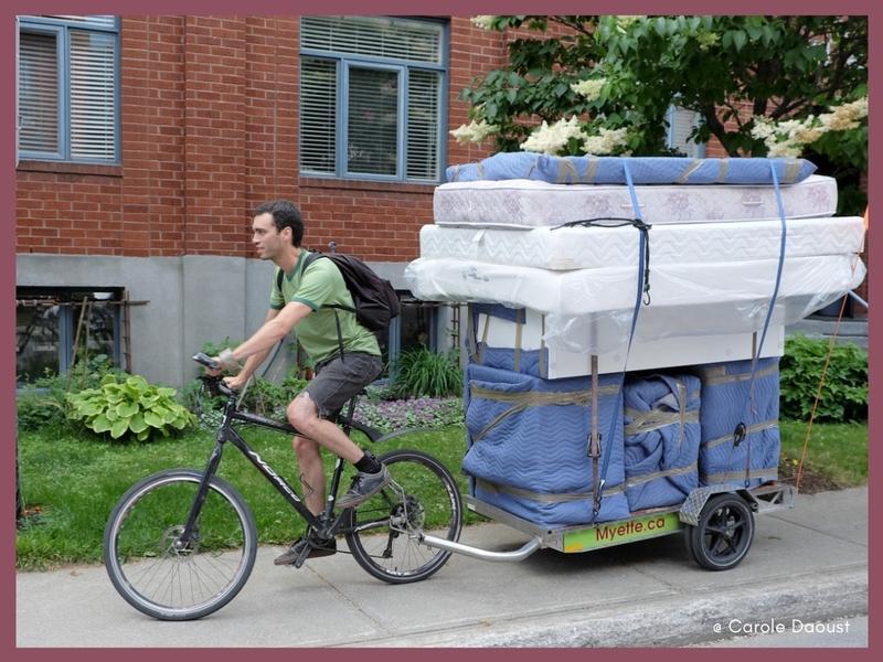 moving bike montreal