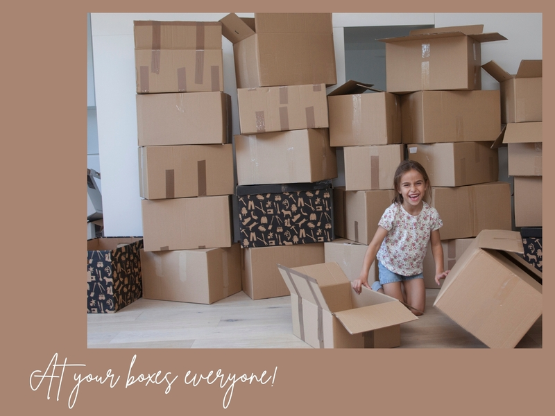 At your boxes