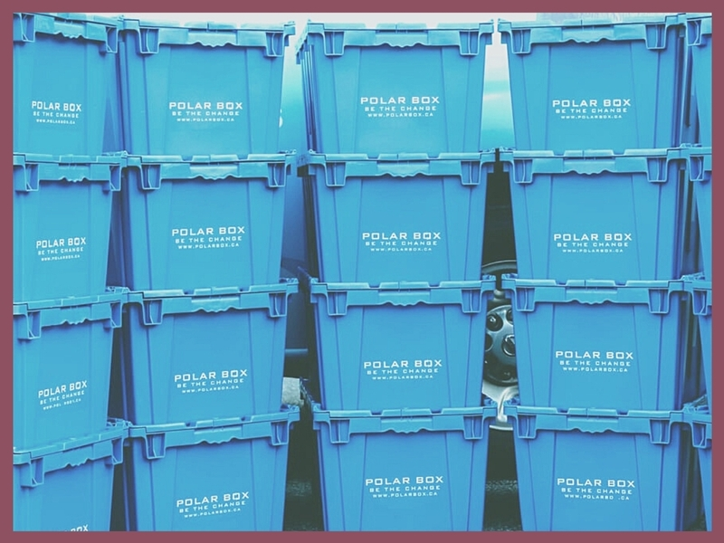 Rental of reusable plastic boxes