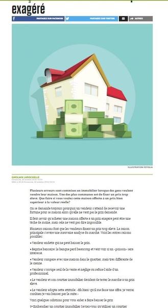 Baisser Le Prix D Une Maison 4 façons de faire baisser un prix exagéré | sutton